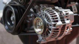 Car alternator repair service